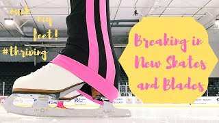 Breaking in Jackson Boots and John Wilson Blades + Exercises and Advice!
