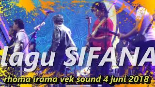 rhoma irama cek sound SIFANA 4 juni 2018