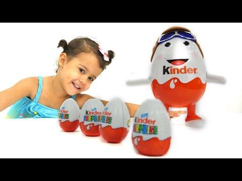Киндер Сюрприз видео для детей. Kinder Surprise игрушки и игры для детей