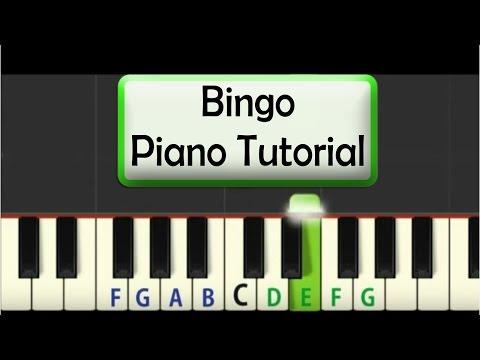 Easy Piano Tutorial: Bingo