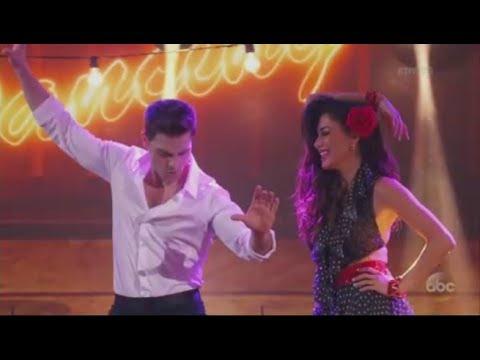 Nicole Scherzinger and Colt Prattes dance to