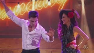 "Nicole Scherzinger and Colt Prattes dance to ""Do You Love Me"" on DWTS"