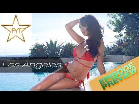 America's next top bikini model? Corrie Yee is stunning in this swimwear fashion shoot