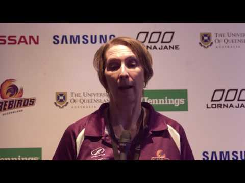 Jencke talks Firebirds' loss to Vixens - 18 Mar 2017