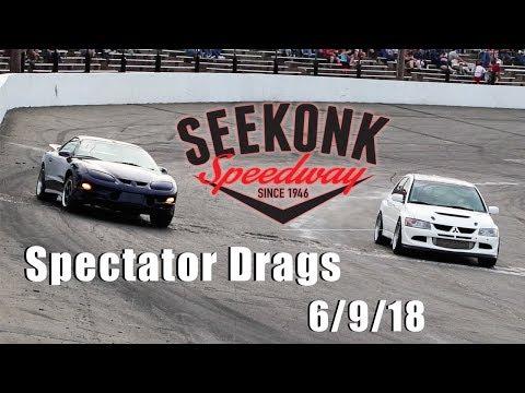 Seekonk Speedway Spectator Drags 6/9/18
