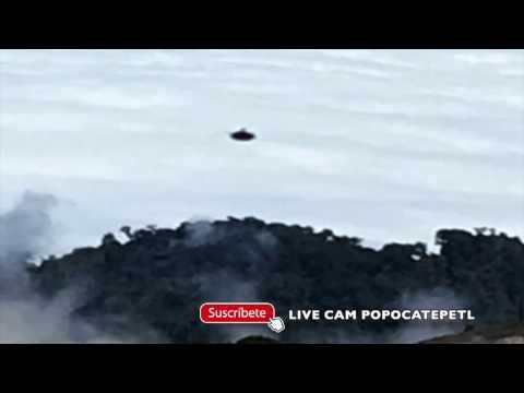 ¡Sorprendente! OVNIS En El Volcán Irazú (Costa Rica)