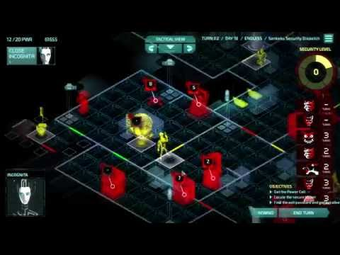 Let's Play Invisible, Inc. Endless - Run #1 - Mission 41 - Of Daemons and Drones