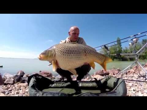 Big Carp fishing on the Lake Balaton with Zsolt Bundik part 1