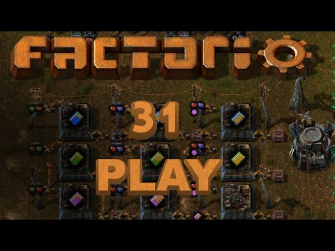 Factorio Play 31 - Module Production