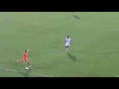 Adanasporlu Emre Uğur Uruç'un mükemmel golü tribün çekimi