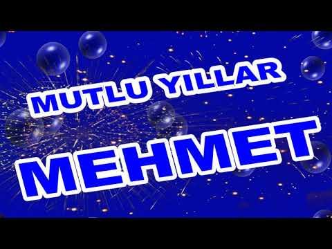 İyi ki Doğdun Mehmet İsme Özel Komik Doğum Günü Şarkısı