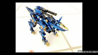 Zoids Shadow Fox Heavy Arms Variant - Weapons Talk