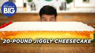 I_Made_A_Giant_20-Pound_Jiggly_Cheesecake_•_Tasty