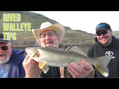 Walleye Fishing On The Columbia River At The Dalles