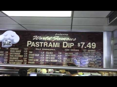 The Hat World Famous Pastrami Dip in Simi Valley CA 365 things to do in Simi Valley