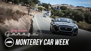 Monterey Car Week 2015: Laguna Seca, Old and New - Jay Leno