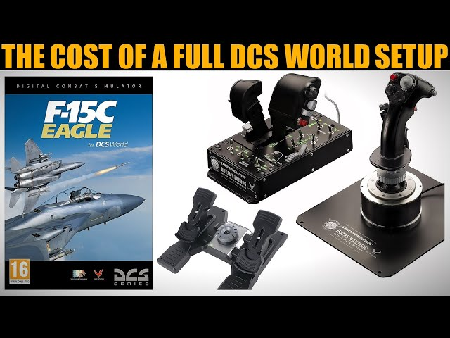 Explained: The $$$ Cost Of A Full DCS WORLD Setup (Software & Hardware)