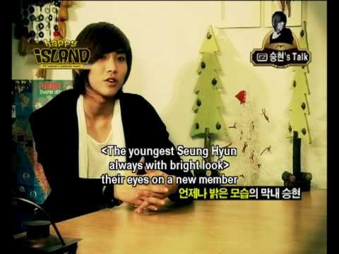 [ENG] FT Island - DVD Interview (Seunghyun)