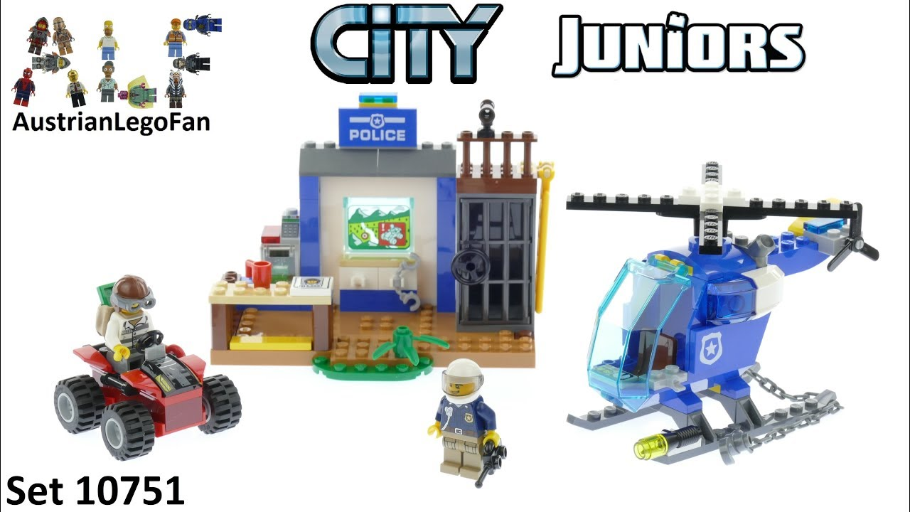Lego City Juniors 10751 Mountain Police Chase - Lego Speed Build Review