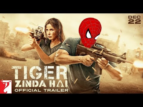 Tiger Zinda Hai - Spiderman version