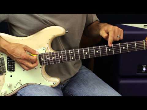 Rhythm Lesson - In The Style Of John Frusciante and Jimi Hendrix - Guitar Lesson