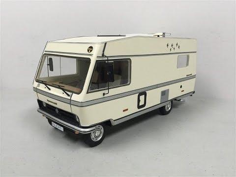 I review Schuco 1:18 Hymermobil 581 BS