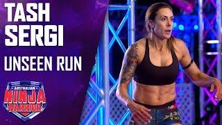 Tash Sergi's unseen run   Australian Ninja Warrior 2019