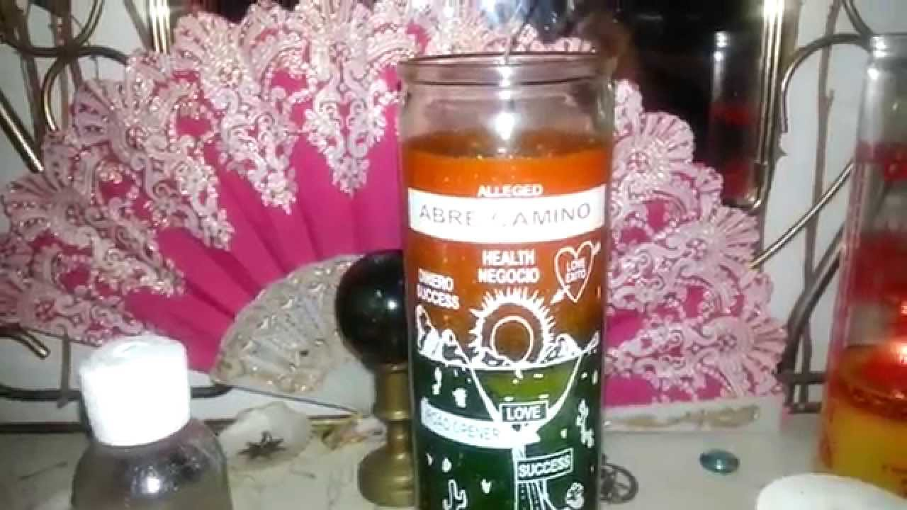 Dressing Candles: Road Opener