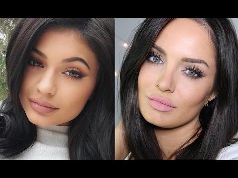 Kylie Jenner Smokey Cat Makeup Tutorial