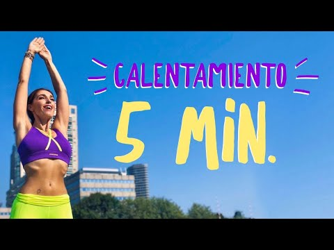 calentamiento para antes de entrenar gym virtual