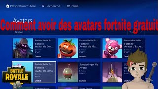HOW TO HAVE FREE AVATARS ON PS4!?