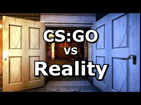 CS GO VS Reality