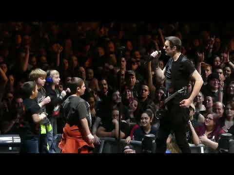 """Ben Invites Kids Onstage & Diary of Jane"" Breaking Benjamin@State College, PA 1/17/18"