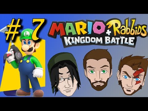 Mario + Rabbids Kingdom Battle Episode 7-Sniper Luigi-All My Champions