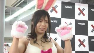 アジア最強格闘女子:中井りんがウサギのコスチュームになって計量に挑んだ! 三浦彩佳 検索動画 27