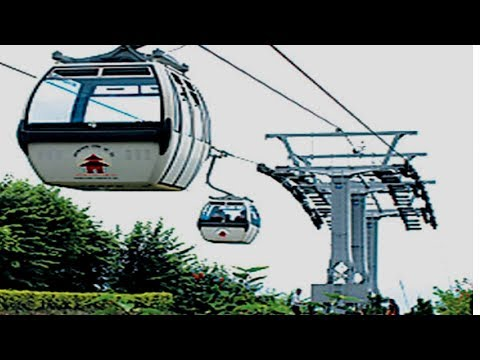 Cable Car in Nepal