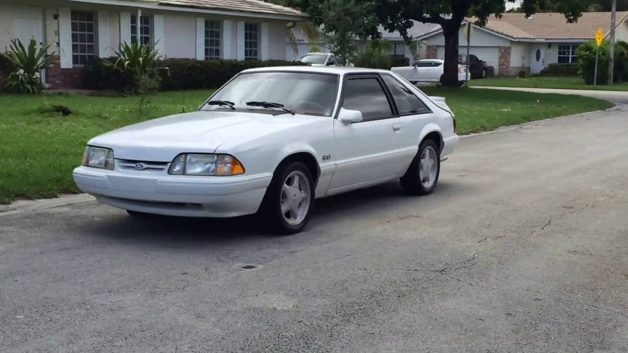 1992 ford mustang lx 5 0 hatchback foxbody