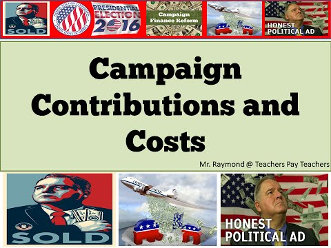 Campaign Finance Reform - Civics SOL