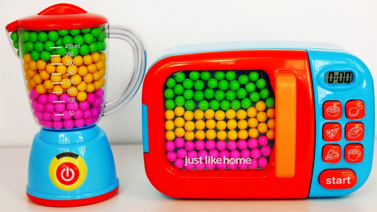 Teenagers Toys Would Like That : Microwave and blender toy appliance candy surprise toys