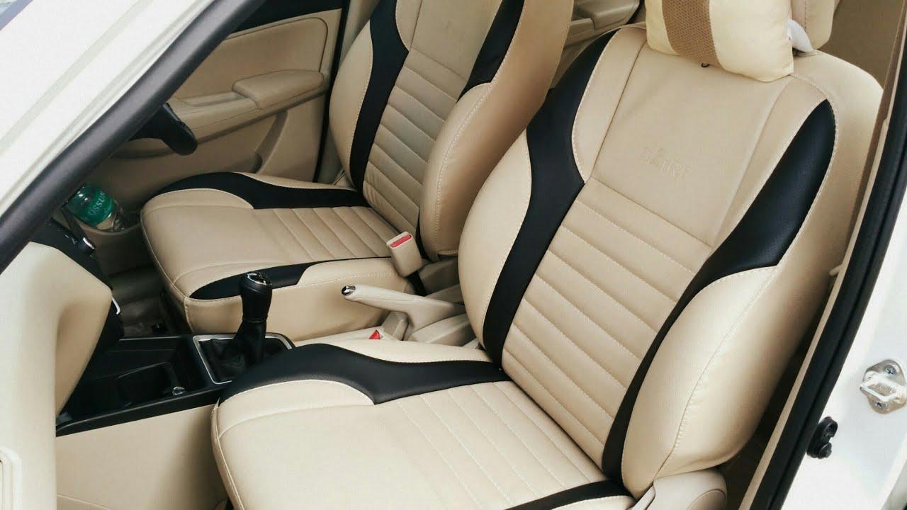 New Dzire Seat Covers Premium Look Youtube