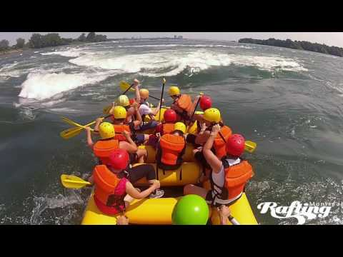 Rafting Jet boating  Lachine Rapids Montreal 2017