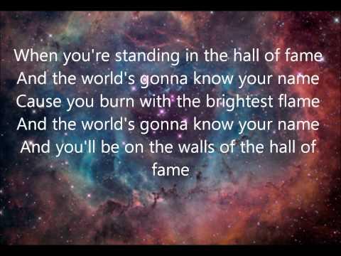 Hall Of Fame - The Script ft. Will.I.Am (Lyrics)