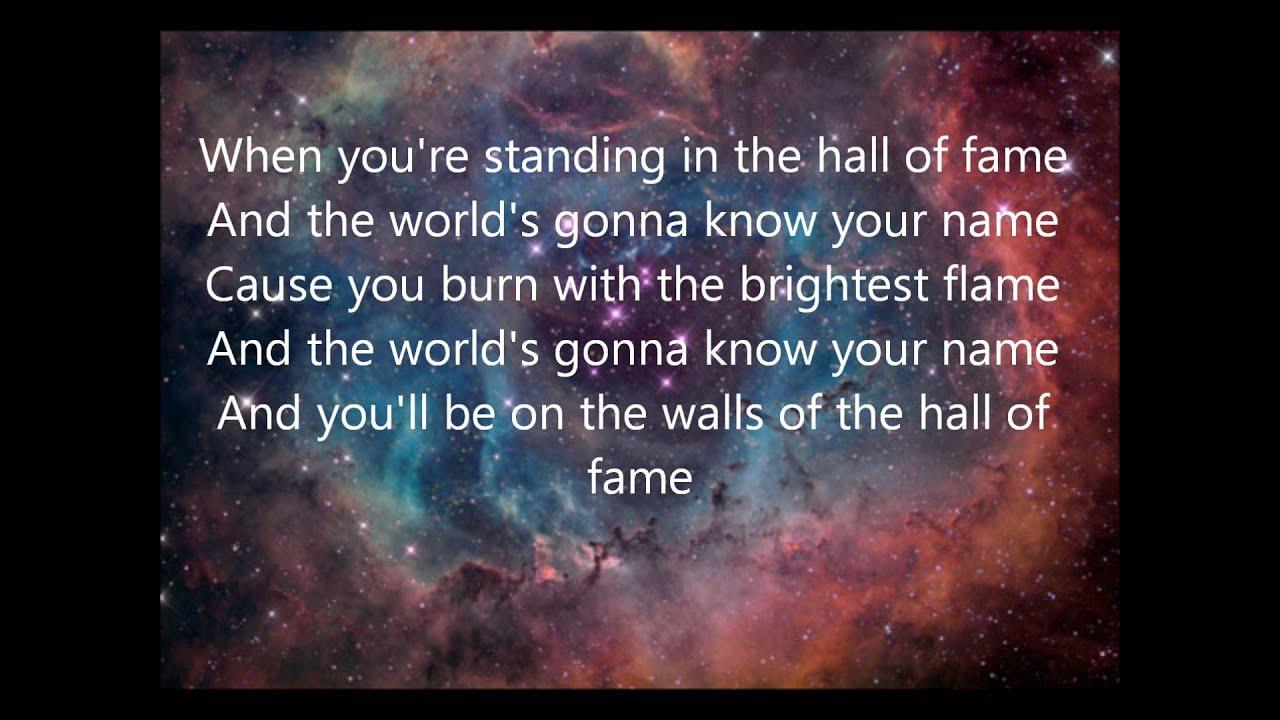 The Script – Hall of Fame Lyrics | Genius Lyrics
