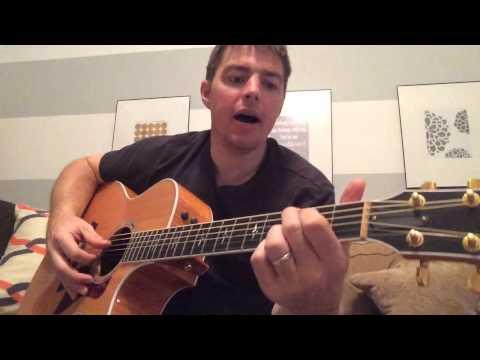 Ball & Chain - Paul Overstreet (Beginner Guitar Lesson)