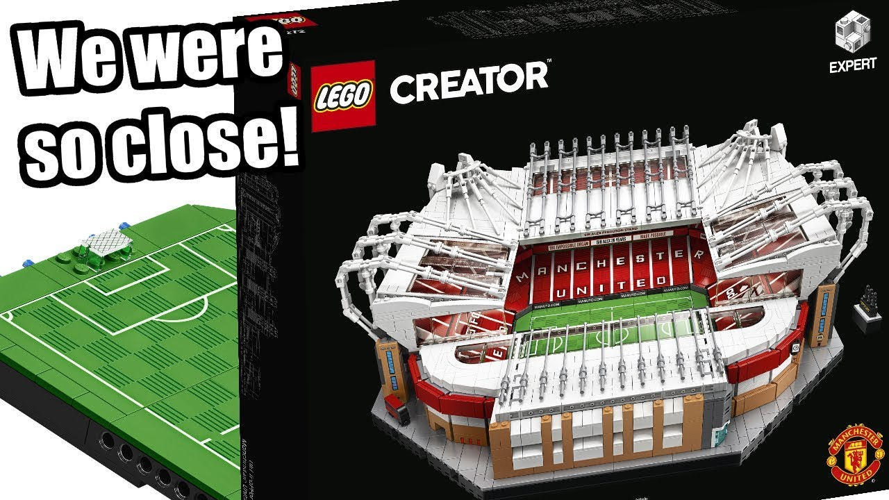 LEGO Old Trafford - Manchester United! NOT my LEGO ...