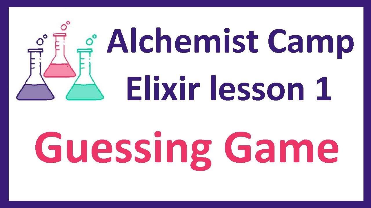 Elixir learning: Lesson 1: The guessing game