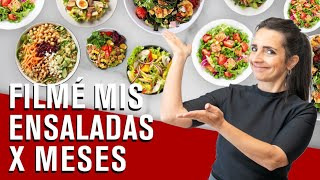 THE SALAD BIBLE - and 21 salad combinations to try (Spanish)