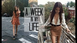 WEEK IN MY LIFE: 4 | NYC Fashion Week Events
