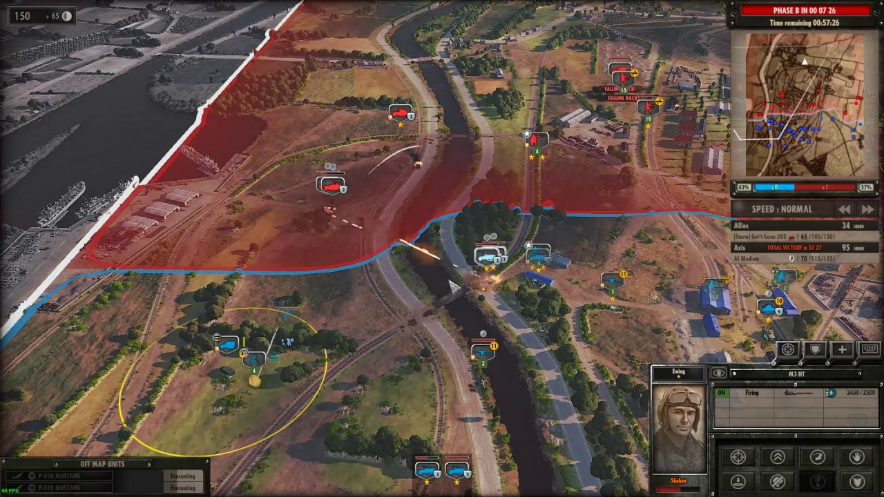 Steel Division Normandy Beta US Armored Division YouTube - Us armor unit map