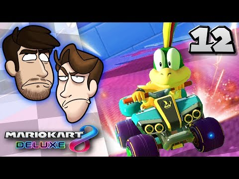 Mario Kart 8 Deluxe VS - EP 12: LA vs NYC | SuperMega